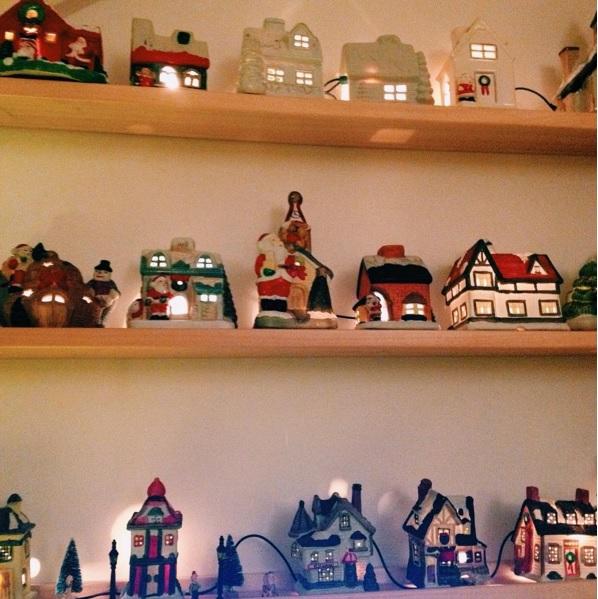 kerst dorp